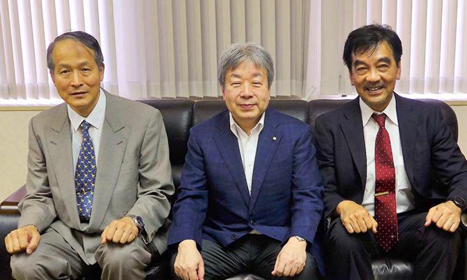 日本歯科医師会 堀 会長を表敬訪問